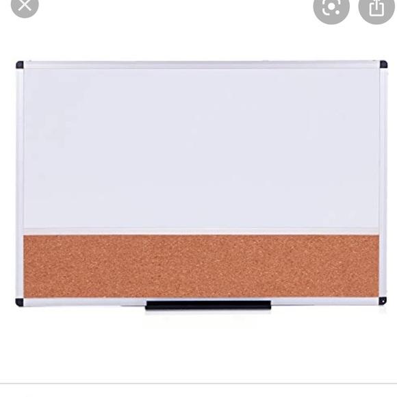 Magnetic White board/ bulletin board